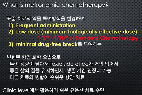 메트로놈 치료의 효과